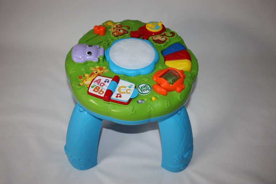 Table d 39 veil musical les animaux leapfrog d 39 occasion - Table d activite leapfrog ...