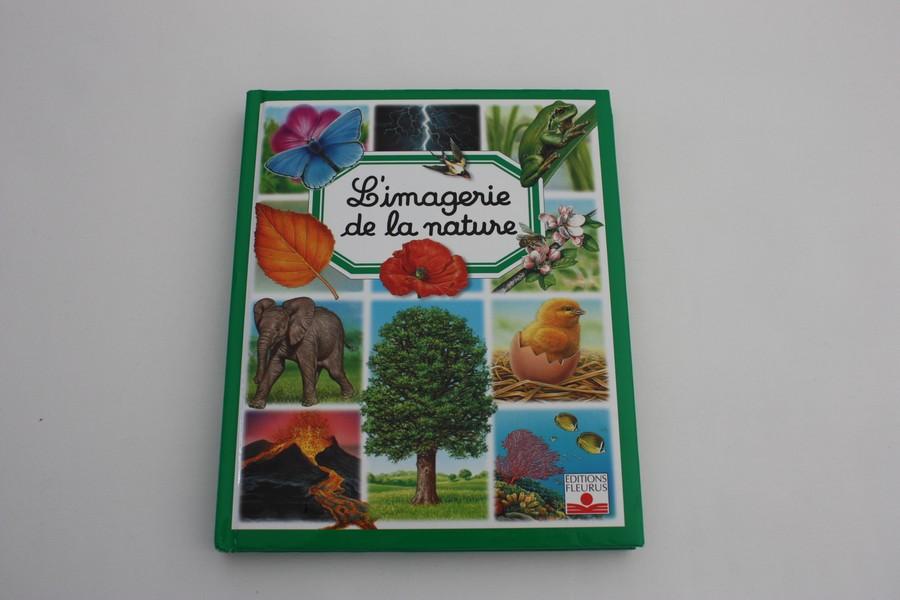 Livre L Imagerie De La Nature Fleurus