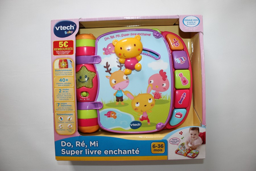 Super Livre Enchante Do Re Mi Vtech Article Neuf