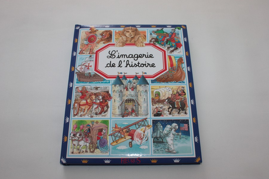 Livre L Imagerie De L Histoire Fleurus